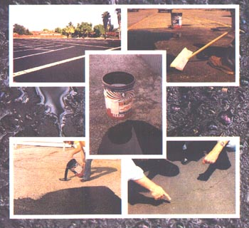 For a fraction of the cost to install an asphalt overlay or replace the entire parking lot, GATOR SEAL will restore and seal excessively cracked asphalt surfaces in one easy step. Skilled labor is not necessary.